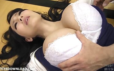 Giant busty asian babe